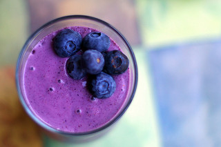 blueberry smoothie, blueberries, brain health, smart, spicy bananas, Tawnya Manion, aphrodisiacs