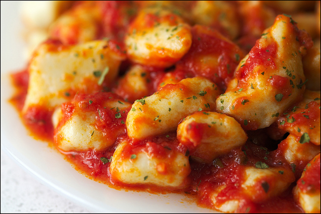 ... stewart gnocchi with tomato sauce gnocchi with spicy tomato sauce